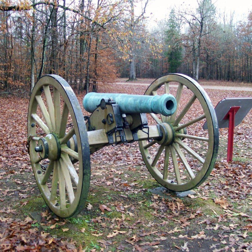 Bell Gun at Shiloh - NPS Photo