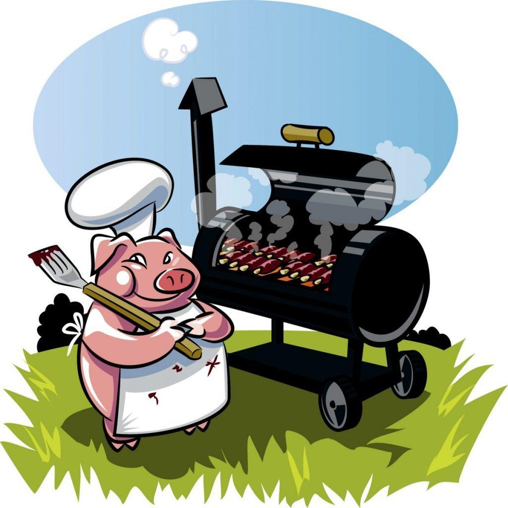 barbecue cartoon